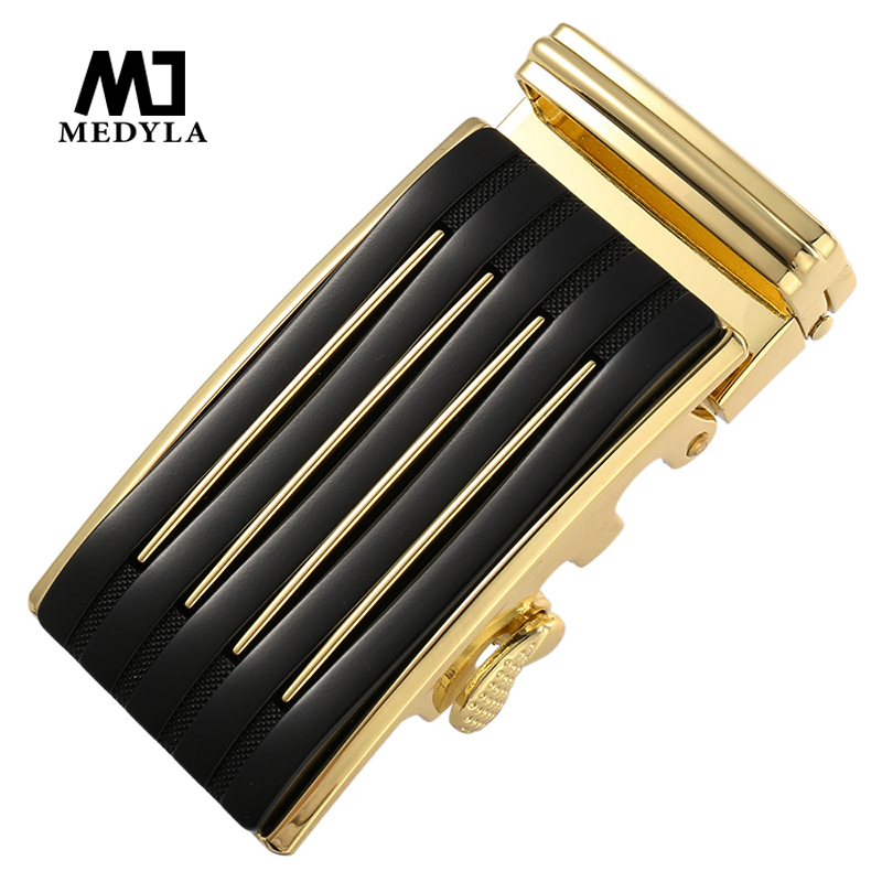 MEDYLA Inner Diameter 3.6cm Business Belt Buckle Hard Metal Noble And Elegant Automatic Buckle For Men's Business Accessories