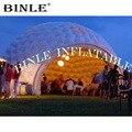 Открытый фронтальный открытый гигантский надувной купол  структура мероприятия  dj палатка  павильон для вечеринки  рекламный igloo шатер для ...