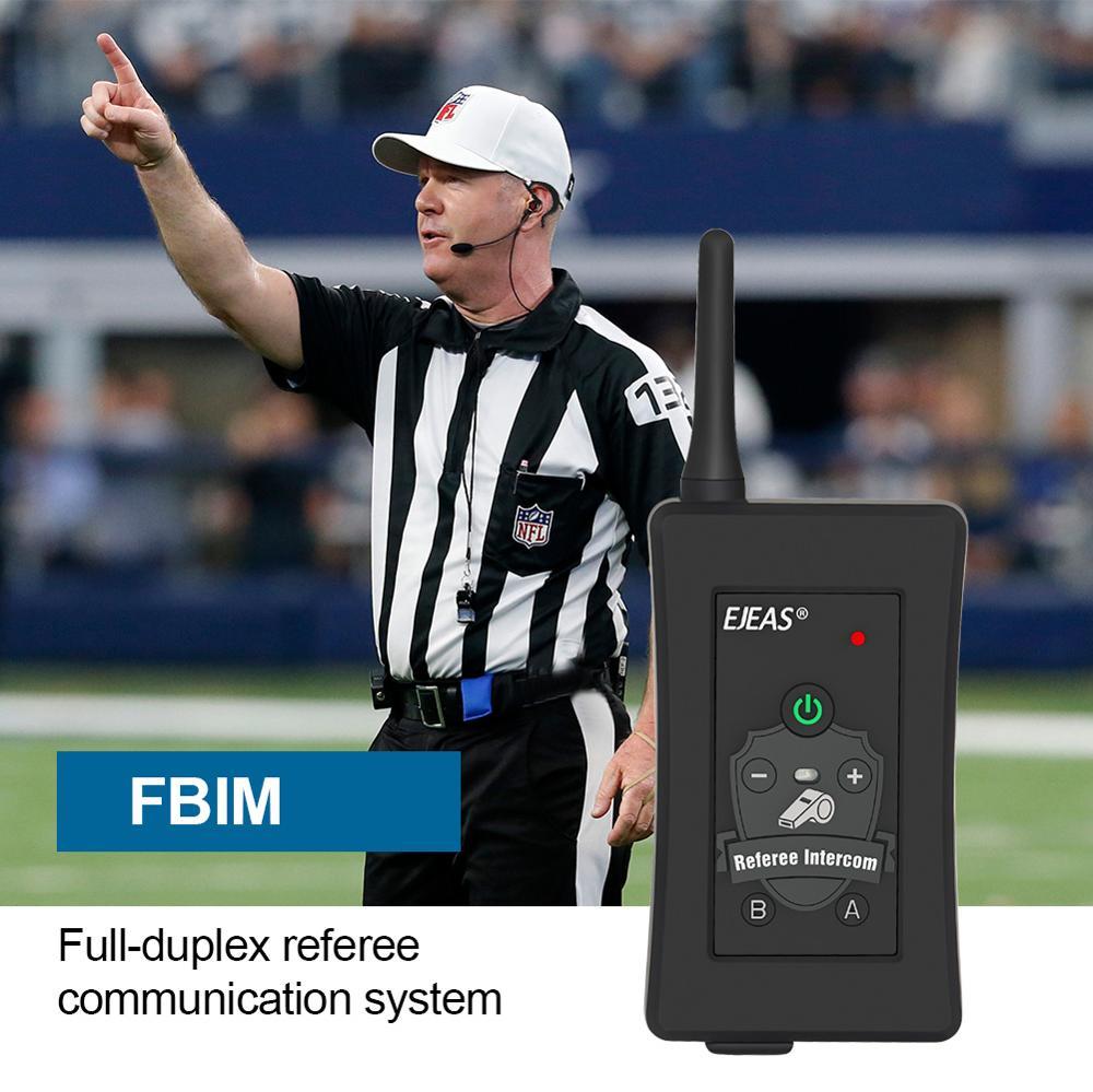 4Pcs Najnovejše nogometne slušalke interfonske slušalke FBIM 1200M - Rezervni deli in dodatki za motorna kolesa - Fotografija 4