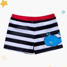 Baby Swimsuit Toddler Children's Beach-Pants Kids Summer Boy Stripe -45 Print