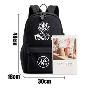 Image 5 - BPZMD sac à dos Dragon Ultra Instinct Goku Z sac à dos lumineux décontracté sacs décole adolescent garçons filles adolescent Mochila Bolsa