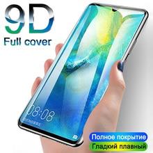 9D מגן זכוכית עבור Huawei Mate 20 10 P20 P30 לייט פרו מלא כיסוי מסך מגן על לכבוד 10 9 לייט מזג זכוכית