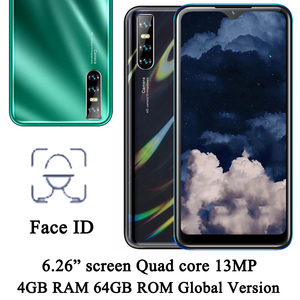Face ID A51 Quad core Global version 13MP water drop screen 6.26