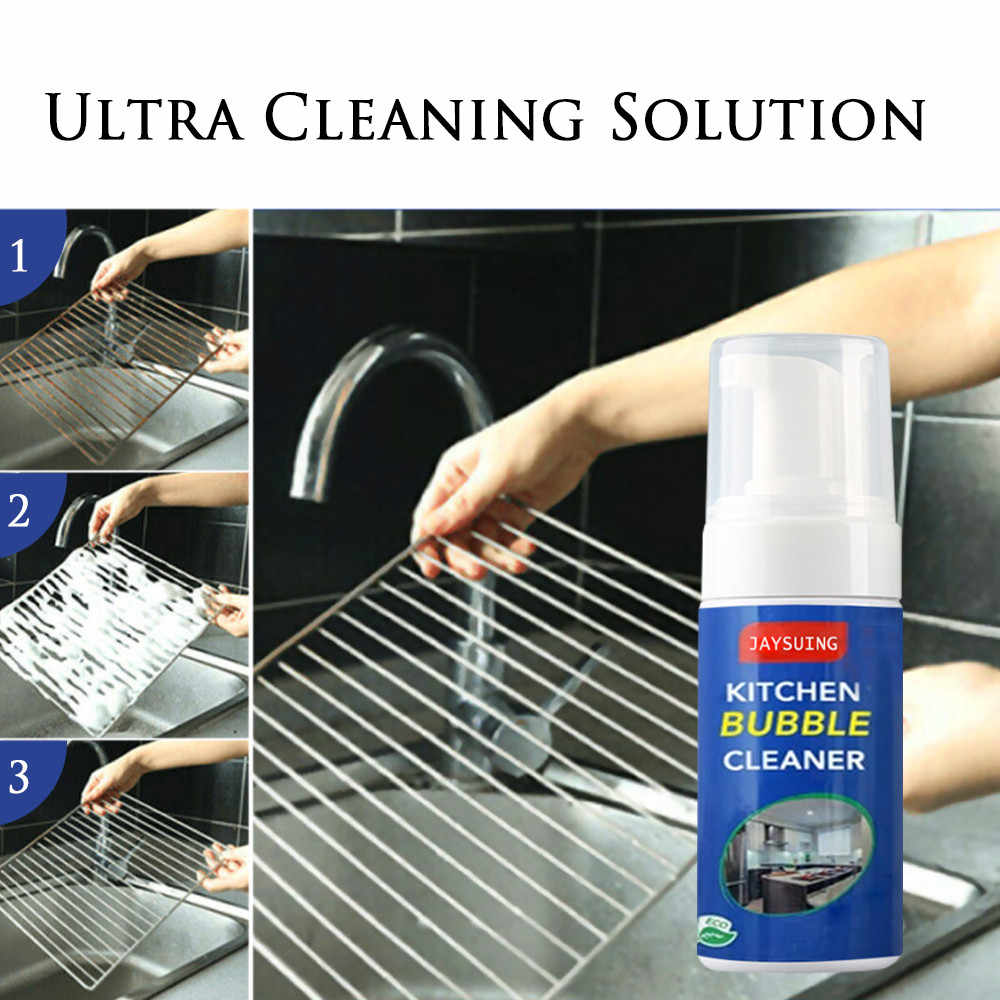 Kitchen Bubble Cleaner All Purpose Cleaning Bubble Spray ...