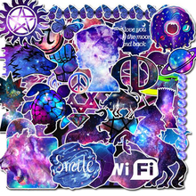 35 PCS/Lot Kawaii Cartoon Galaxy Stickers Scrapbooking DIY Diary Album Motorcycle Luggage Laptop Bike Scooter Sticker