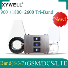 New!! 900/1800/2600mhz cellular signal booster GSM 900 DCSLT