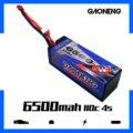 Gaoneng GNB 6500 мАч 4S 14 8 в 110C/220C жесткий чехол LiPo батарея Т-образный Разъем для RC HPI HSP 1/8 1/10 багги RC автомобиль Грузовик Рок Гусеничный