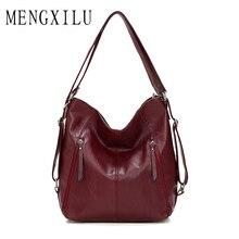 купить Retro Women Bag 2019 Female Tote Bags Lady Shoulder Bags Women Shoulder Bag Pu Leather Vintage Designer Handbags Ladies Handbags по цене 1171.71 рублей