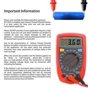 Image 5 - 6 LiSCLO2 ER14505 pçs/lote PKCELL 3.6V 14505 2400mah AA Bateria Superior LR6 R6P 1.5V Baterias Para Câmeras de Rastreamento GPS