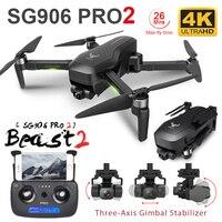 ZLRC SG906 PRO 2 Berufs Drohne mit 4K 3-Achsen Gimbal Kamera HD GPS 5G WiFi FPV bürstenlosen RC Quadcopter Drone PK X12