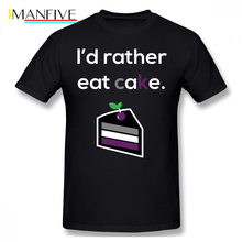 Asexual T Shirt Or Asexuality Humor Pride T-Shirt 100 Percent Cotton Men Tee Oversize Casual Funny Tshirt
