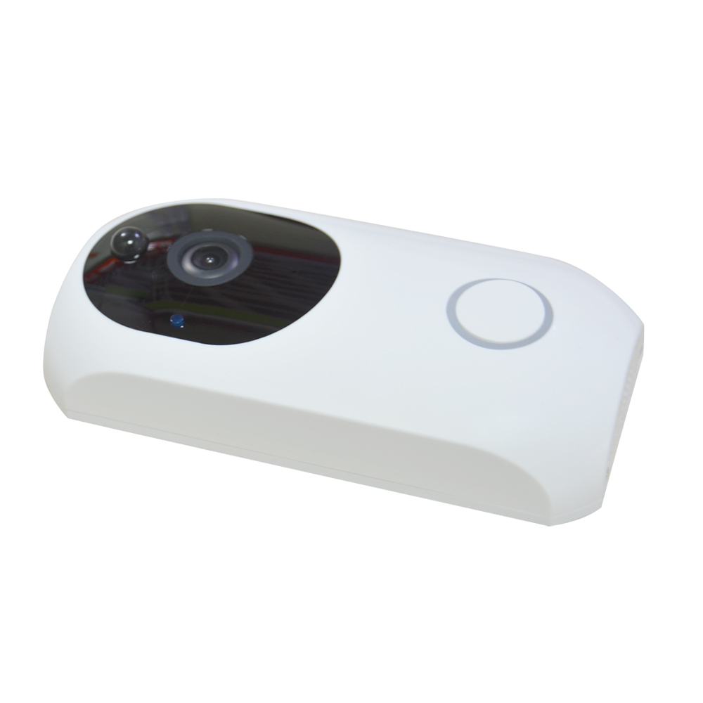 Купить с кэшбэком Tuya Smart life Home Wireless doorbell WIFI video door phone night vision camera talkback intercom audio recorder PIR Motion