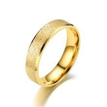 4 цвета матовое кольцо из нержавеющей стали популярные кольца