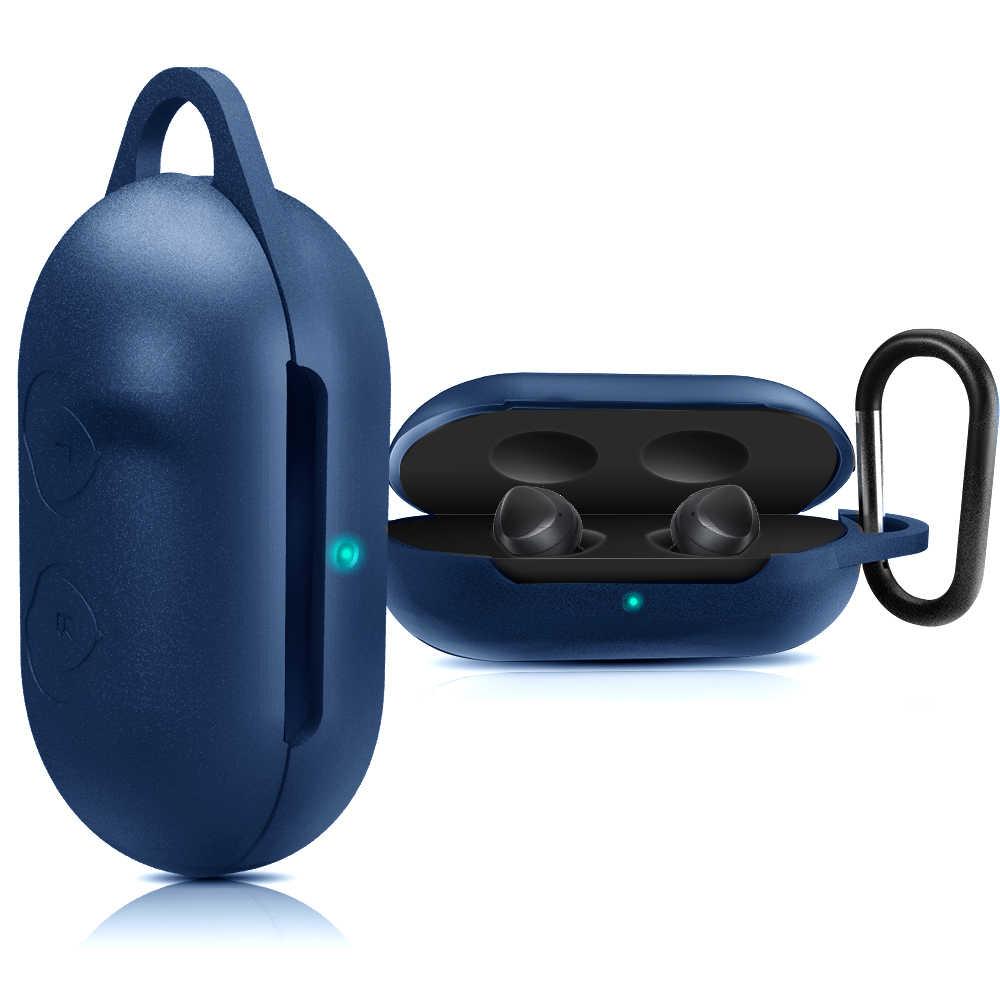 Caja de auriculares para Samsung Galaxy Buds inalámbrico Bluetooth funda de auriculares de deportes funda de silicona funda Anti-caída