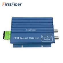 GPON FTTH receptor óptico con WDM /micro WDM, conector dúplex SC APC con 2 salidas WDM para PON FTTH OR20 CATV