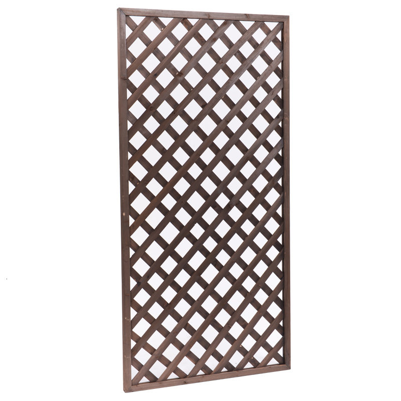 Grid Arbor Outdoors Botany Balcony Decorate Flowerpot Pylons Outdoor Anticorrosive Wood Bracket To Climb Flower Rack Courtyard