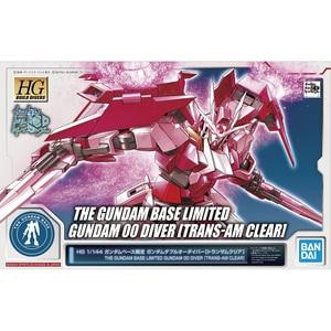 Image 2 - Bandai Hgbd 1/144 GN 0000DVR Gundam 00 Diver Rosso Trasparente Edition Action Figure Del Giocattolo di Modello di Montaggio