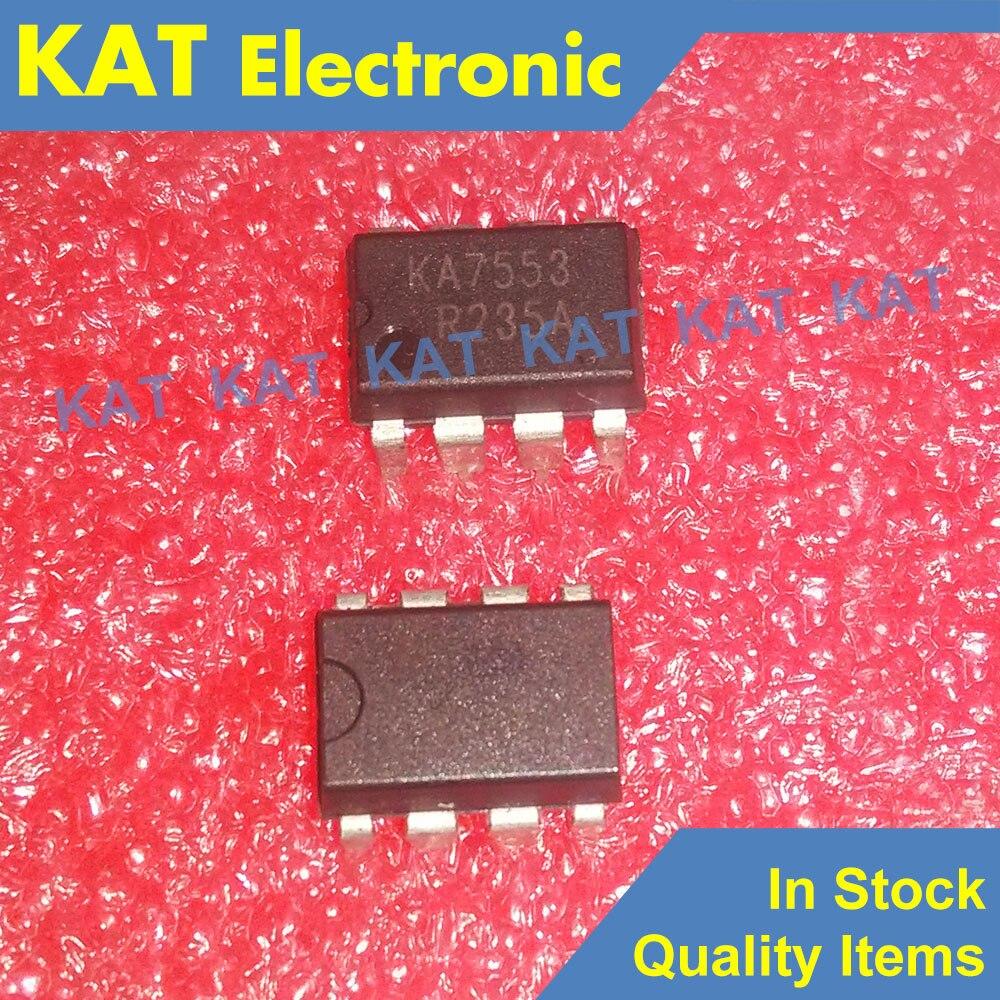 5PCS/Lot KA7553 KA7553A DIP-8 SMPS Controller
