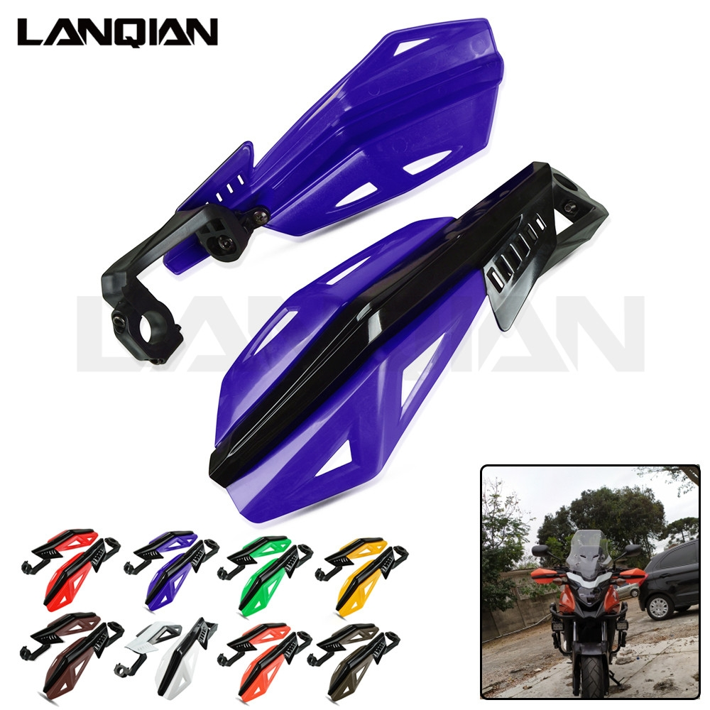 Motorcycle Hand Guard Handle Bar Handlebar Guard For <font><b>Yamaha</b></font> YZ WR TTR <font><b>XT</b></font> DT 80 85 125 230 250 426 450 <font><b>600</b></font> F FX X Dirt Bike <font><b>Parts</b></font> image
