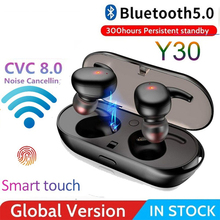 2021 Wireless Touch TWS 5.0 Sports Bluetooth Earphones Control Headphones LED Display 450mah Charging Box
