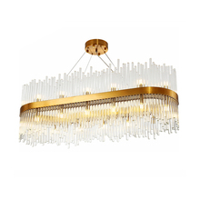 Post-modern Light Luxury Chandelier Home G9 Living Room Lamp Glass Crystal Lamps Bedroom Simple Nordic Restaurant Chandelier crystal restaurant chandelier rectangular hong kong style nordic postmodern light luxurious atmosphere bedroom living room lamps