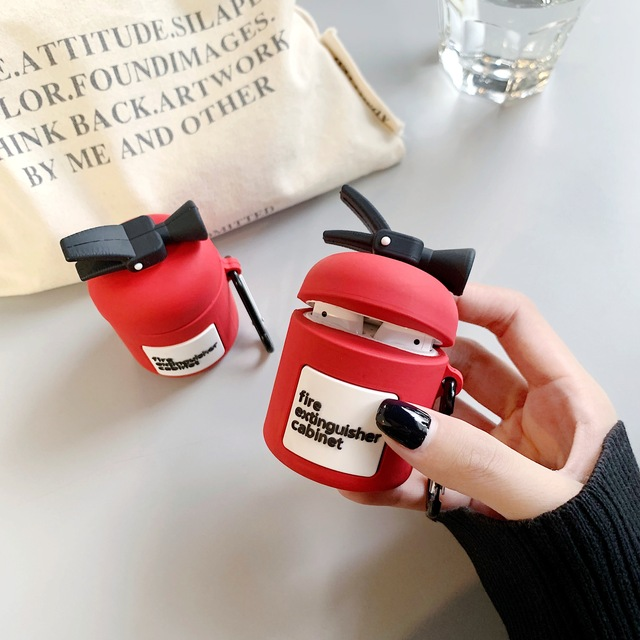 Fire Extinguisher AirPod Case