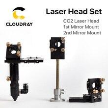 цена на CO2 Laser Head 63.5mm Focal Focus Lens 20mm Reflective Mirror 25mm Integrative Mount Laser Engraving and Cutting Machine