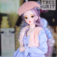 Blyth doll Dream Fairy Series 1/3 BJD 62cm girl joint body doll Body,Including With Official makeup and hair eyes clothes ICY SD