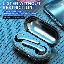 McGeSin TWS Kopfhörer Drahtlose Bluetooth V 5,0 Kopfhörer Stereo 9D Sound Musik Headset Sport Touch Control Mini Ohrhörer Für Telefon