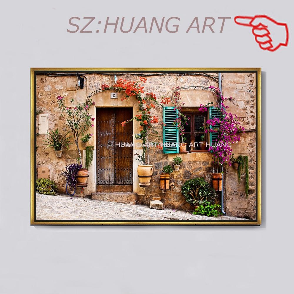 Большие фрески древнего архитектурного стиля 3 d картина маслом Декоративное Настенное искусство в кафе диван фон лобби бара отеля