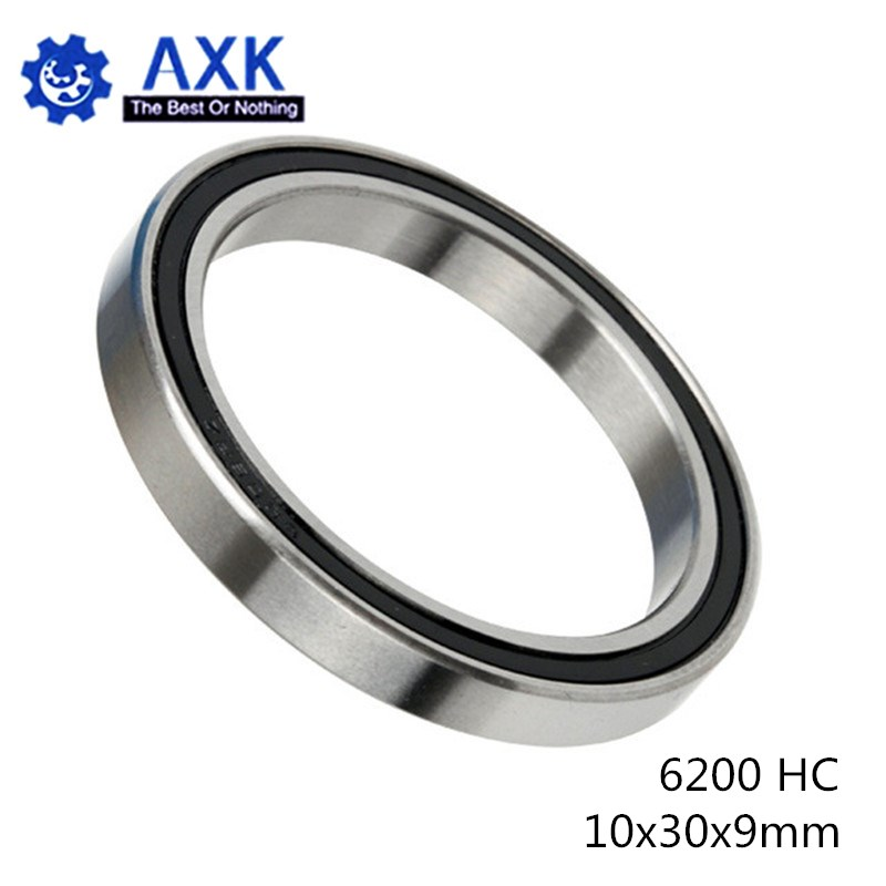 6200 Hybrid Ceramic Bearing 10*30*9 mm ABEC-1 ( 1 PC) Industry Motor Spindle 6200HC Hybrids Si3N4 Ball Bearings 3NC <font><b>6200RS</b></font> image