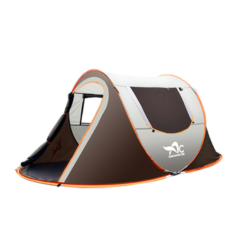 Outdoor Large Camping Tent Full-Automatic Instant Unfold WaterProof Tent Family Multi-Functional Portable Dampproof Tent 2 8 people fully automatic camping tent windproof waterproof automatic pop up tent family outdoor instant setup tent 4 season