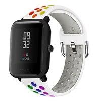 Cinturini da polso sportivi in Silicone per Huami Amazfit Bip BIT lite S U Pop GTS 2 per cinturino di ricambio Smart Watch hay485 LS02