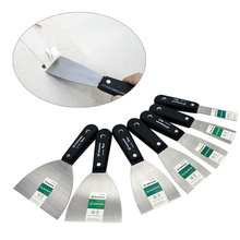 7pcs Putty Knife Set Wall Shovel Stainless Steel Plastic Han