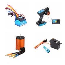 Kit de atualização sem escova esc receptor do motor controle remoto servo conjunto para wltoys 144001 A959-B A979-B rc peças reposição carro