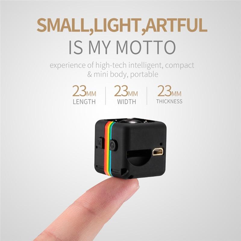 SQ11 HD 720P Mini DV DVR Camera Dash Night Vision Camcorder Sport Dash Cam Recorder Camcorder Motion Birthday Gift Kids Toy