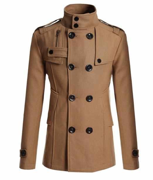 MRMT 2020 브랜드 뉴 남성 마오 울 오버 코트 남성 긴 양복 모직 스포츠 용 재킷 남성 코트 겉옷