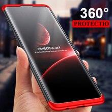 360 Full Bảo Vệ Ốp Lưng Điện Thoại Samsung Galaxy S20 S10 S9 S8 Plus S10 S7 Edge Chống Sốc Dành Cho Note 10 9 Trường Hợp (Không Có Kính)