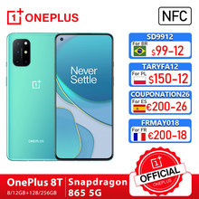 Rom global oneplus 8 t 8 t oneplus loja oficial 8gb 128gb snapdragon 865 5g smartphone 120hz amoled tela fluida 48mp quad 65w; code: 1PLUS($20-12:For Brazail new buyer),tech199cymye($199-29) SD9912($99-12)