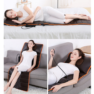Image 5 - Multifunction Electric Massage Mattress Vibration Hot Compress Cervical Full Body Massage Cushion Electric Heating Blanket