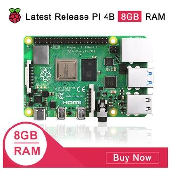 Latest Raspberry Pi 4 Model B 8GB RAM 1.2 version BCM2711 Quad core Cortex-A72 ARM v8 1.5GHz - discount item  20% OFF Demo Board & Accessories