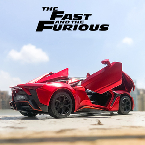 Image 3 - 1:32 Lykan Hypersport Alloy Car Model Diecasts & Toy Vehicles Toy Car Metal Collection Toy Kid Toys for Children Kids Gifts