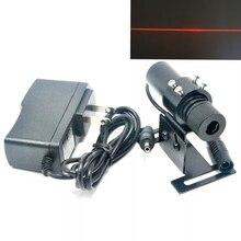 20 мВт 650 нм линия луч красный лазер модуль фокусируемая головка w адаптер +% 26 локатор 22% 2A 75 мм