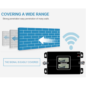Image 4 - Lintratek 2G 3G GSM 900 WCDMA 2100 Dual Band Mobile Phone Signal Repeater GSM 3G UMTS Cellular Booster Amplifier KW17L GW
