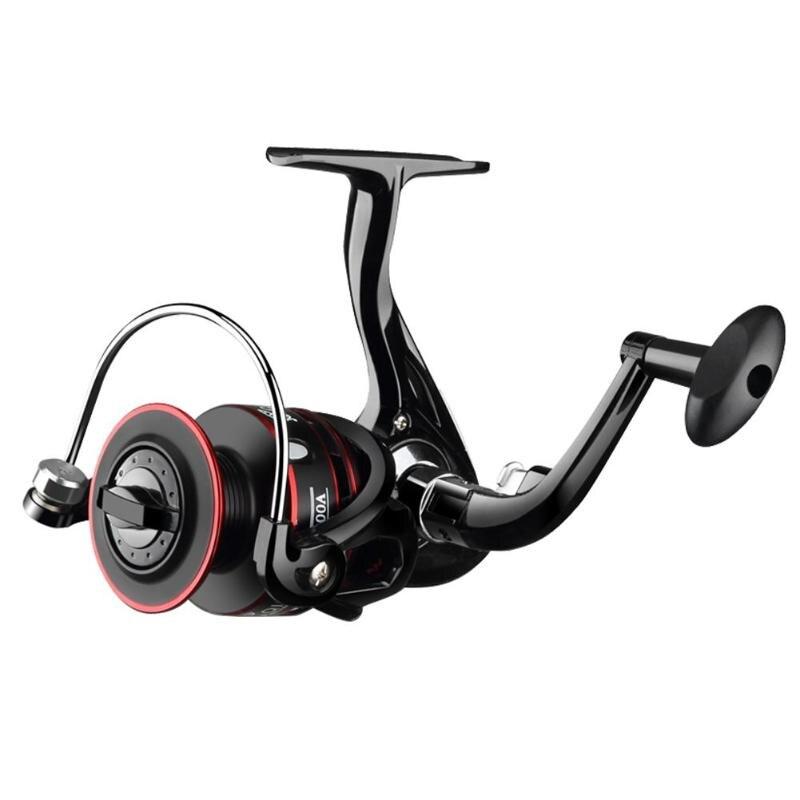 Metal 12BB Spinning Fishing Reel 5.2:1 Speed Ratio Line Fish Wheel Fishing Feeder Spinning Reel Spinning wheel type Pesca|Fishing Reels| |  - title=