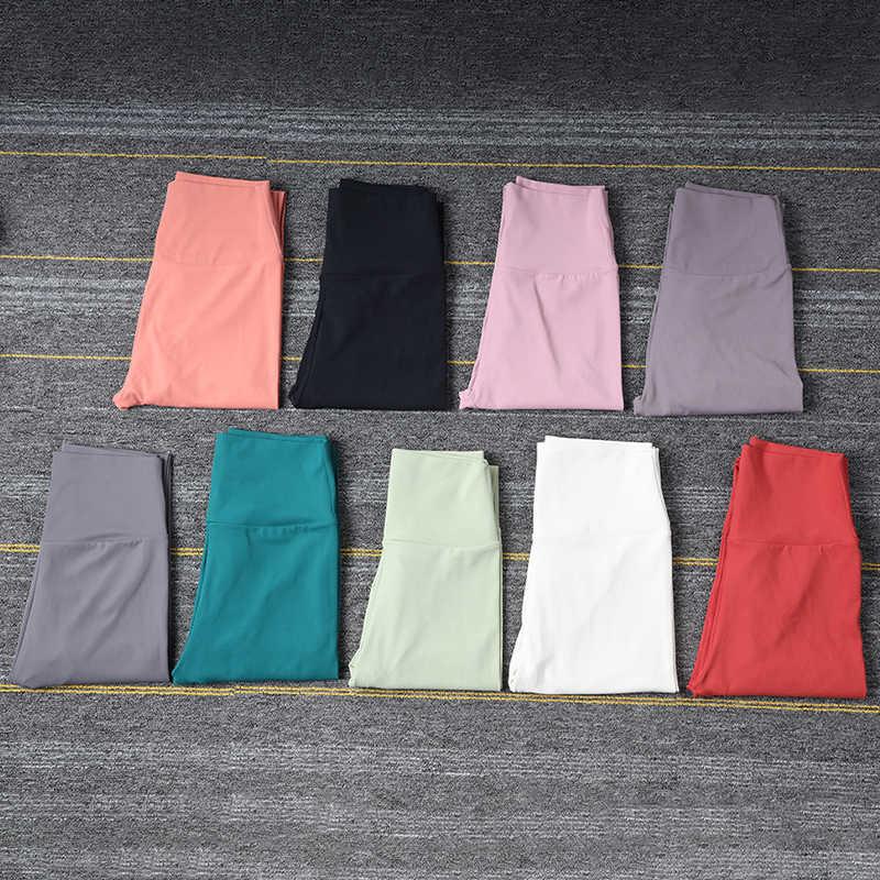 SOISOU ใหม่กางเกงโยคะกางเกงขายาวสำหรับออกกำลังกายไนลอนสูงเอวยาวกางเกง Hip Push UP Tights ผู้หญิง Gym เสื้อผ้า