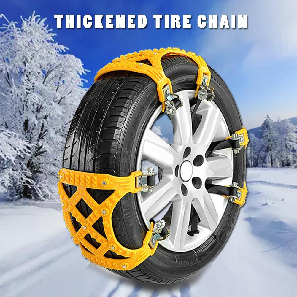 Car Accessories Winter Car Snow Chain Tires Universal Multi-function Auto Off-road Vehicle SUV Cars Snow Tire Chain