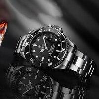 2020 Tevise Top marka męski zegarek mechaniczny automatyczny data moda zegarki sportowe złoty zegar Relogio Masculino Drop Shipping w Zegarki mechaniczne od Zegarki na