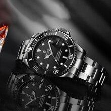 2020 Tevise למעלה מותג גברים מכאני שעון אוטומטי תאריך אופנה שעוני יד ספורט זהב שעון Relogio Masculino זרוק חינם