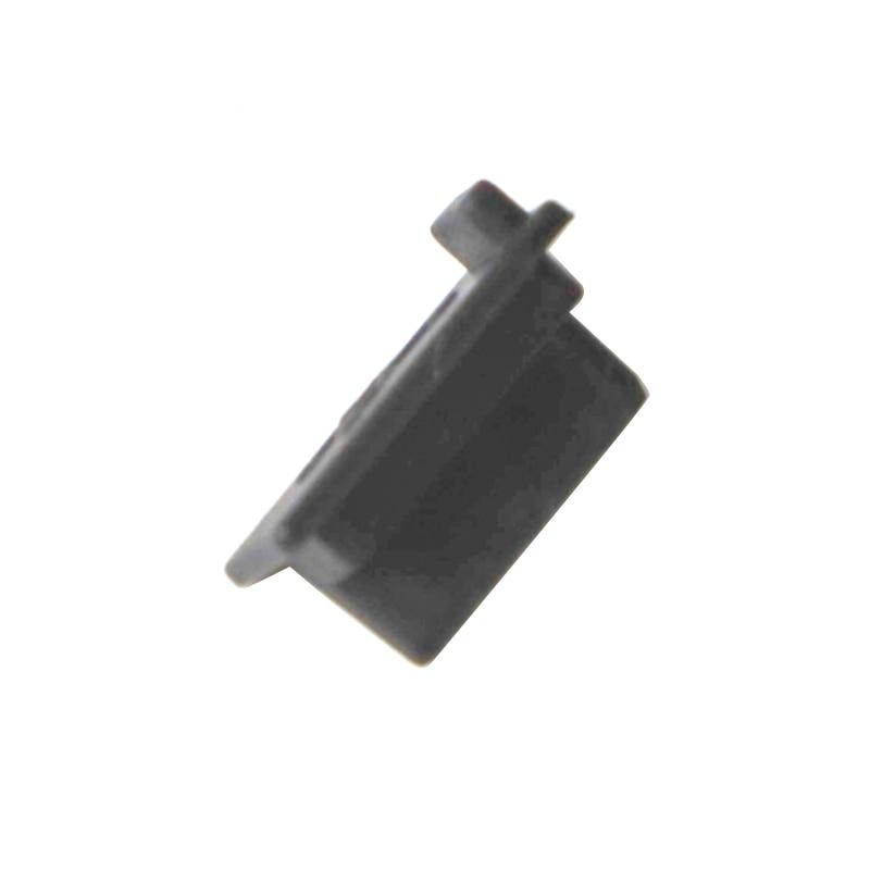 6pcs /7pcs Black Silicone Dust Plugs Set USB HDM Interface Anti-dust Cover Dustproof Plug for PS5 Game Console Accessories Parts 5
